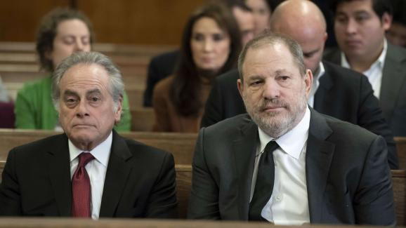 Benjamin Brafman et Harvey Weinstein au tribunal de New York, le 25 janvier 2019.