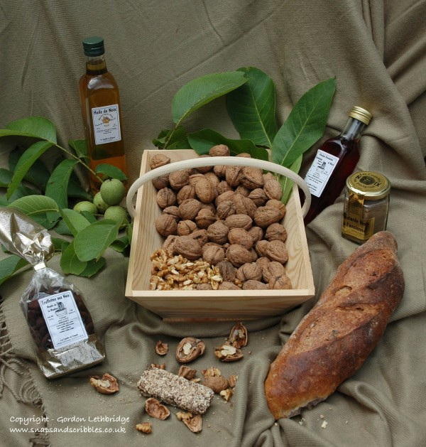Products made from walnuts