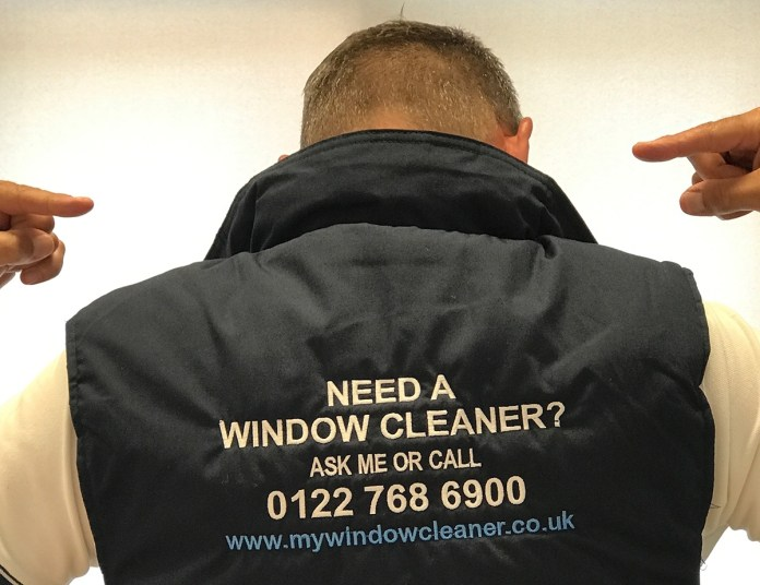 Alan Jarvis my window cleaner