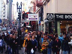 Black Friday Union Square San Francisco