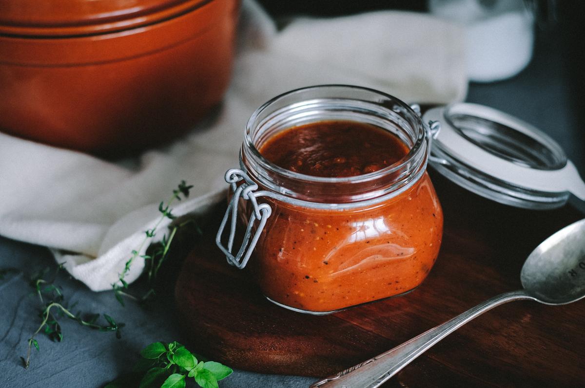 molho de tomate rápido