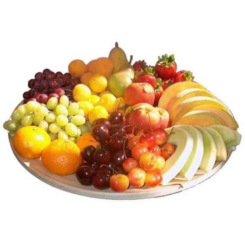 Assiette de fruits en Iran