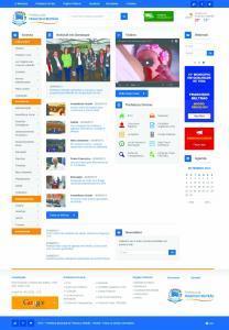 Página tem novo layout e irá abrigar o Portal da Transparência