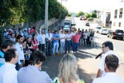 Moradores e servidores envolvidos na obra também acompanharam a inauguração