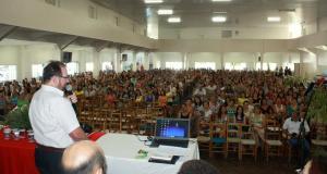 Secretário de Educação, Viro de Graauw, abriu o ano letivo com educadores, na Cango