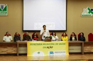 Seminário motivado pela Secretaria de Saúde aconteceu na Amsop