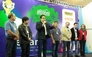 Prefeito Cantelmo Neto recepcionou os participantes na abertura do evento, nesta quinta-feira