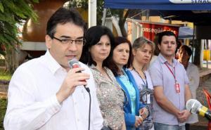 Prefeito Cantelmo Neto fez o lançamento da campanha, sábado no Calçadão