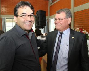 Prefeito Neto e o empresário Osmar Mazetto