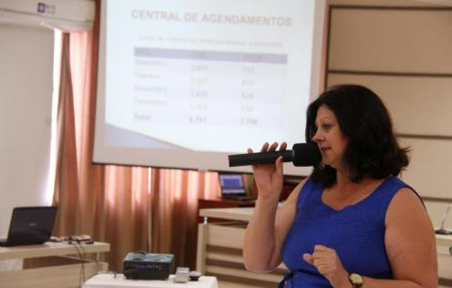 Secretária de Saúde, Rose Mari Guarda, também prestou contas; investimento na saúde foi de 29% do Orçamento