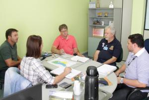 Equipe da Secretaria de Desenvolvimento Rural se reuniu com representantes da CI Biogás para desenvolver o projeto