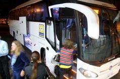 Ônibus começaram a operar nesta semana