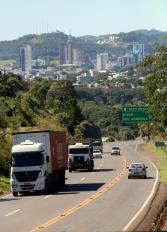 Trecho de serra na saída de Beltrão para Ampére tem cerca de 5 km e registra vários acidentes