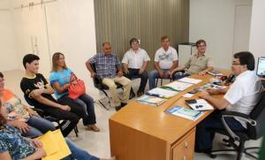 Prefeito Cantelmo Neto recebeu lideranças do Cristo Rei nesta semana e anunciou o cronograma de grandes obras para o bairro