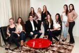 As candidatas ao Miss Beltrão foram recebidas pelo prefeito Cantelmo Neto / Foto: Juarez Gralak