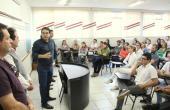 Prefeito Cantelmo Neto anunciou revitalização da rua que leva o nome de seu pai em encontro com colaboradores e o diretor da Unipar, Claudemir de Souza