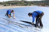 Impermeabilização evita goteira e também melhora a acústica e temperatura nos ginásios