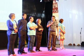 Prefeito Cantelmo Neto e autoridades fizeram a abertura da Semana da Literatura nesta quinta, no centro de eventos