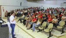 Prefeito Cantelmo Neto coordenou encontro com agentes de saúde, que a partir desta segunda passam a reforçar as equipes de combate a focos de Aedes aegypti