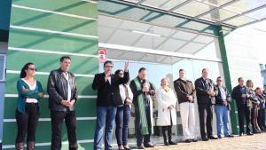 Prefeito Cantelmo Neto destacou ampliação do programa Saúde da Família em Beltrão durante cerimônias de inauguração das UBSs
