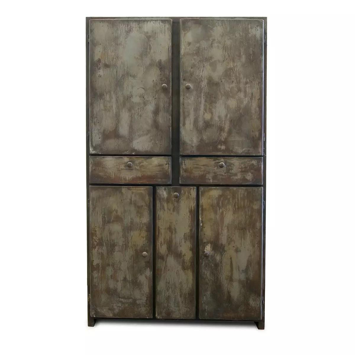 armoire metallique style industrielle