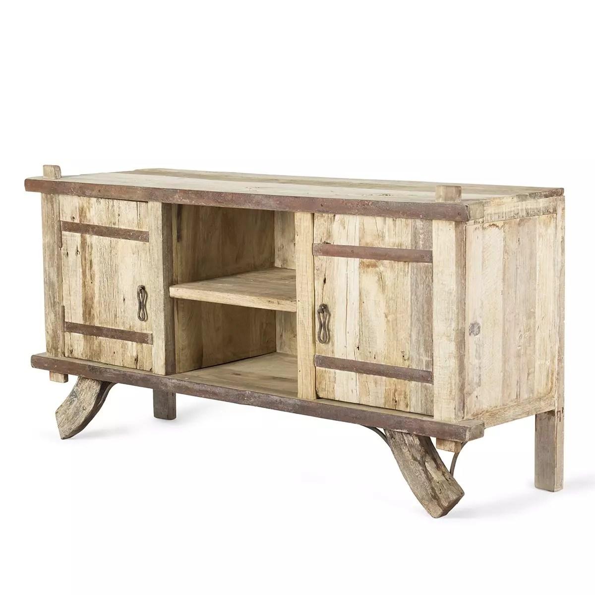 comptoir fabrique en bois vintage