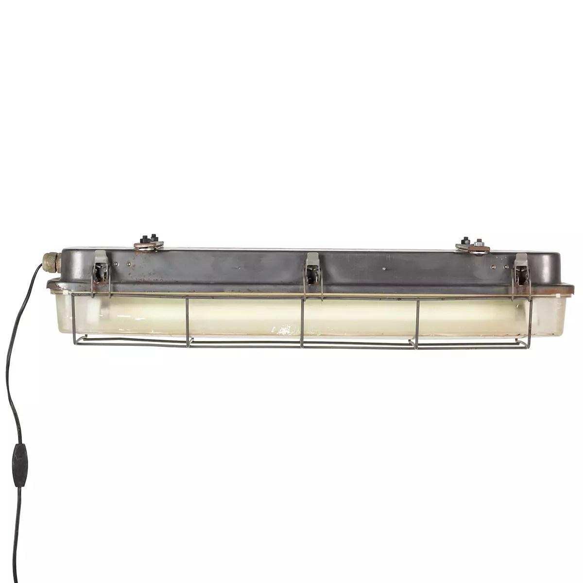 luminaire plafonnier industriel pour
