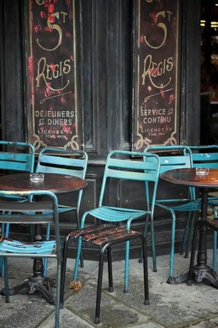 mobilier pour terrasses de restaurants
