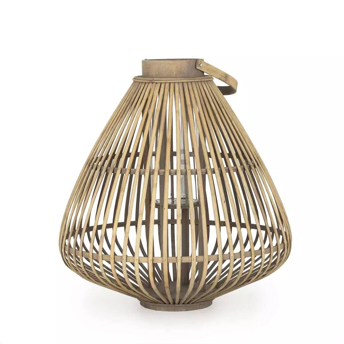 bamboo pendant light eriste shira