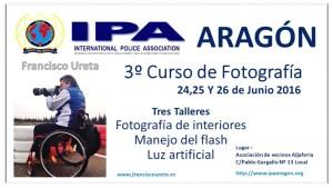 III Edición Curso de Fotografía IPA Aragón