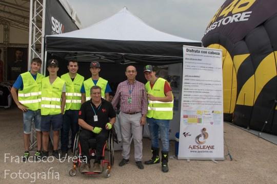 GP Aragón Visita Jefe Probincial de Trafico Zaragoza