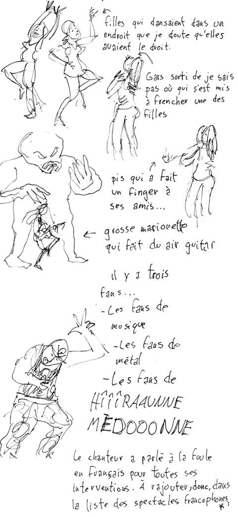Iron Maidon au FEQ par Francis Desharnais