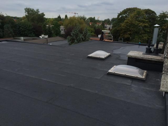 Renovatie plat dak met isolatie