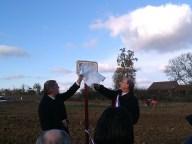Inaugurations multiples à Clermont-Savès, en présence du maire Gaëtan Longo.
