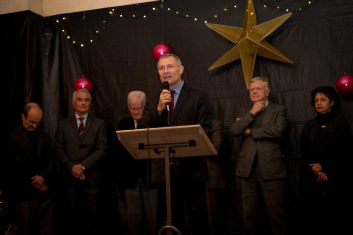 Le sénateur Franck Montaugé présente ses voeux à la communauté de communes Val-de-Gers. ©franckmontauge.fr