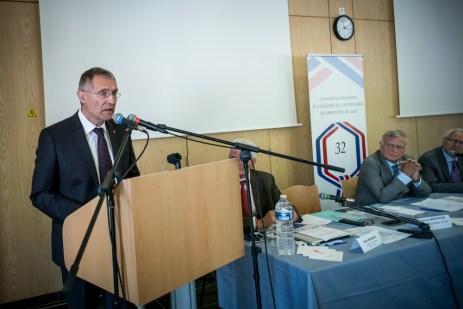 Pendant la lecture du manifeste par Franck Montaugé. ©franckmontauge.fr