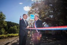 Avec Patrick Delignières, le maire de Biran. ©franckmontauge.fr