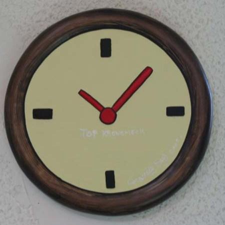 """""""Top Kronomeck"""" - Bas relief - Diamètre 37cm - 2003"""