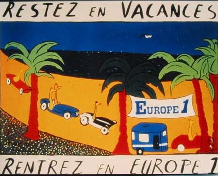Pub Nationale pour Europe 1 - Septembre1986