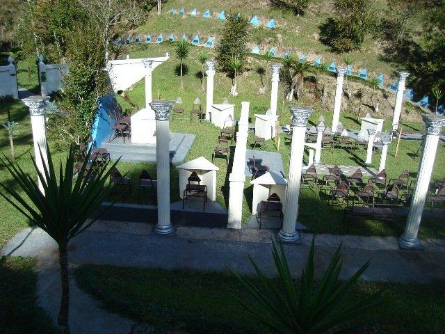 Entorno del templo masónico