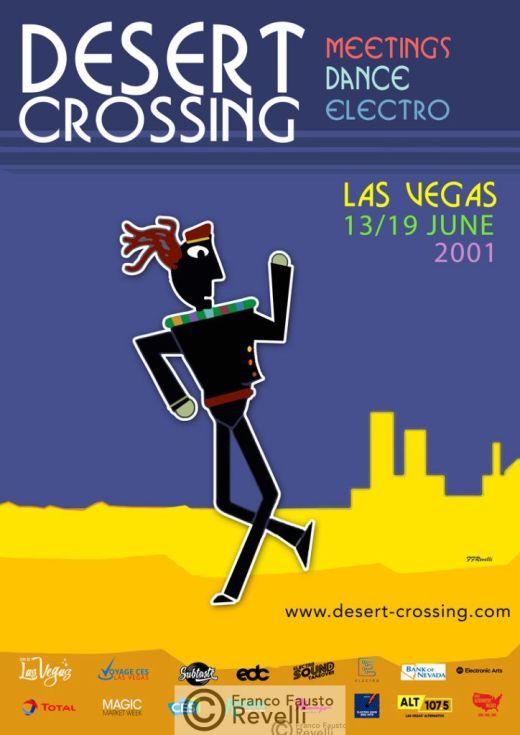 DESERT CROSSING, LA VEGAS | Poster, 2001