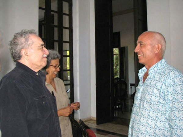Gabriel Garcia Marquez e il Maestro Franco Azzinari