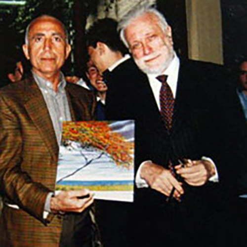 Franco Azzinari e Luciano De Crescenzo