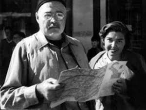 Ernest Hemingway e Fernanda Pivano