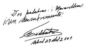 Dedica Fidel Castro a Franco Azzinari