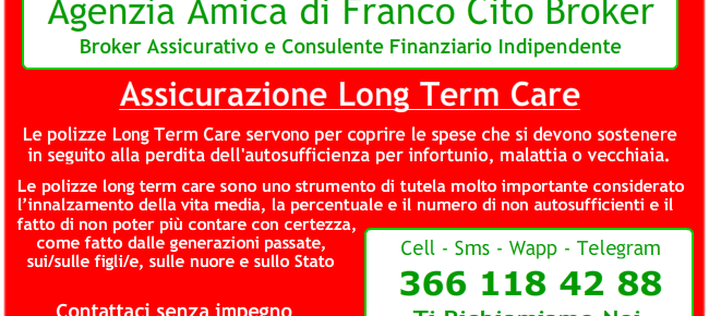 Polizze Long Term Care