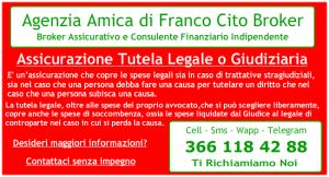 Franco Cito Broker - PolizzaTutela Lagale