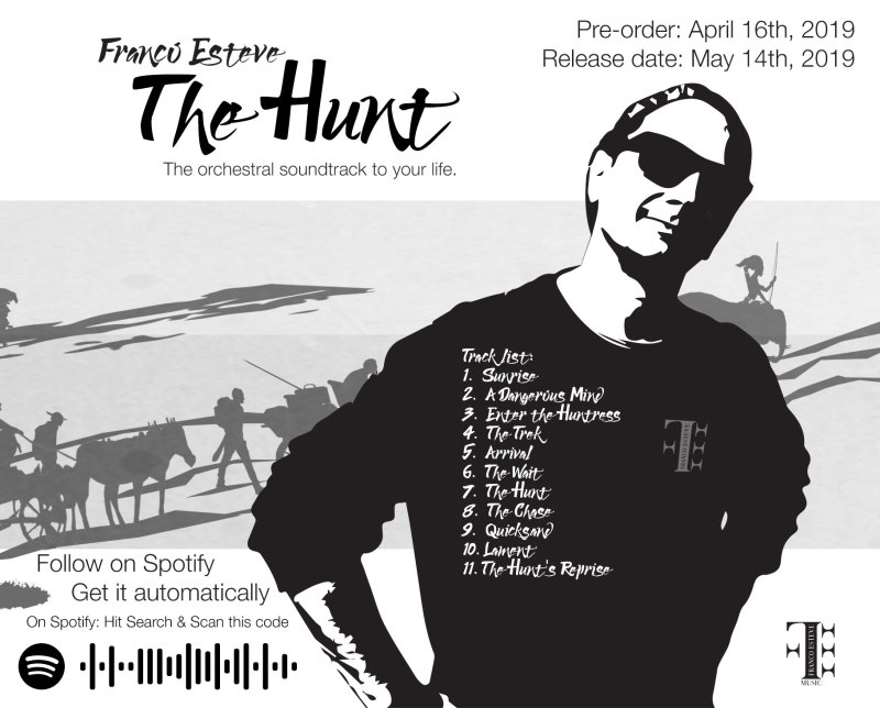 The Hunt Classical Music Album CD Artwork Back