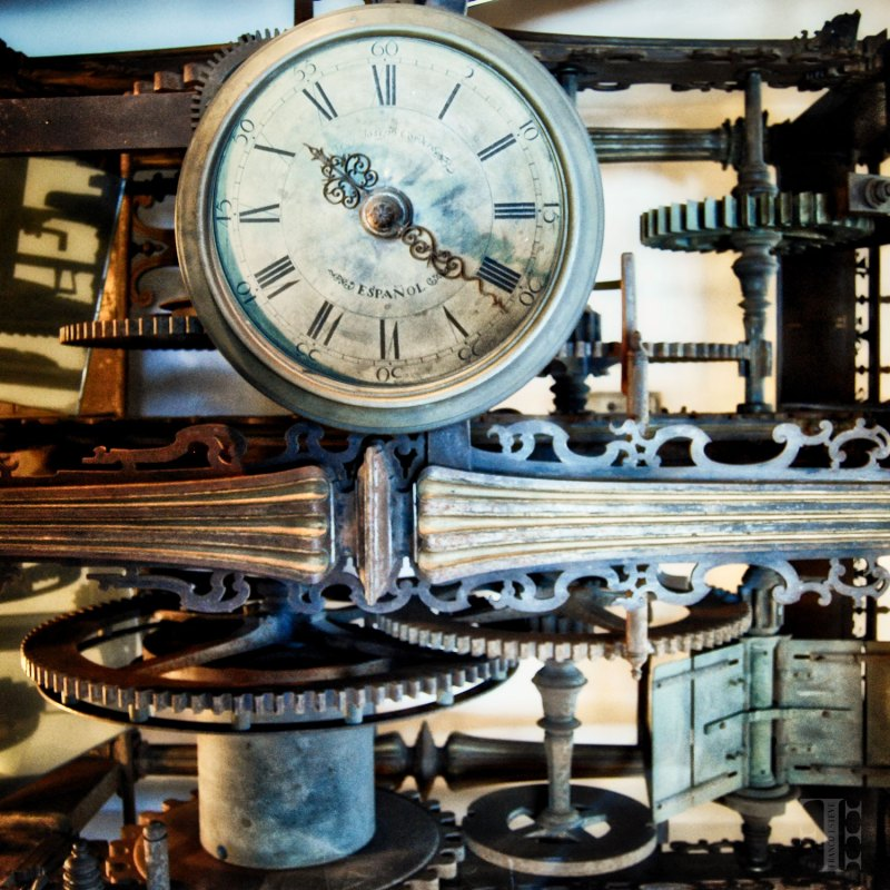 The cogs of time stop for no one photo by Franco Esteve