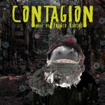 Contagion, contemporary classical music concept album CD cover art by Franco Esteve